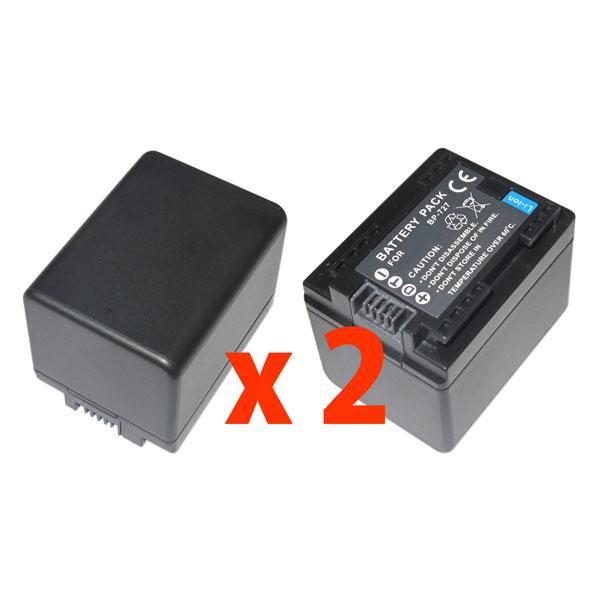 キヤノン BP-727互換バッテリーのお得な2個セットCanon iVIS HF M52/iVIS HF M51/iVIS HF R42/iVIS HF R32/iVIS HF R31
